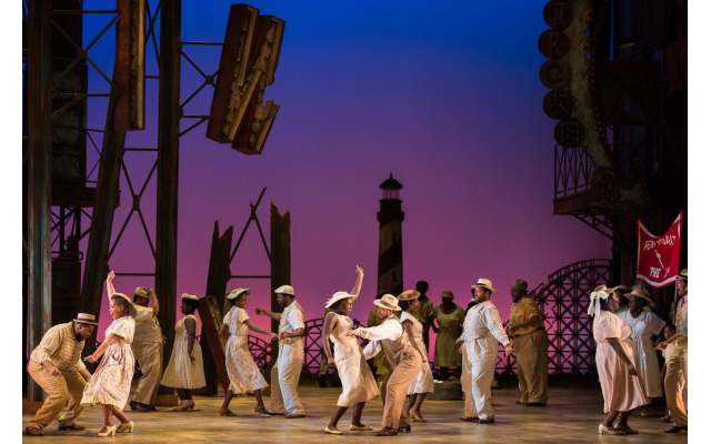 """The Atlanta Opera's staging of """"Porgy and Bess"""" shown here is based on the 2017 production created by Francesca Zambello at the Glimmerglass Festival in New York."""