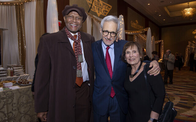 Don Rivers, Rabbi Alvin Sugarman and Barbara Sugarman chat about civil rights icon Rev. C.T. Vivian.