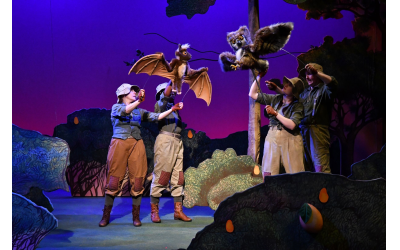"The Atlanta Center for Puppetry Arts is currently featuring ""Stellaluna,"" based on the popular children's book about bats."