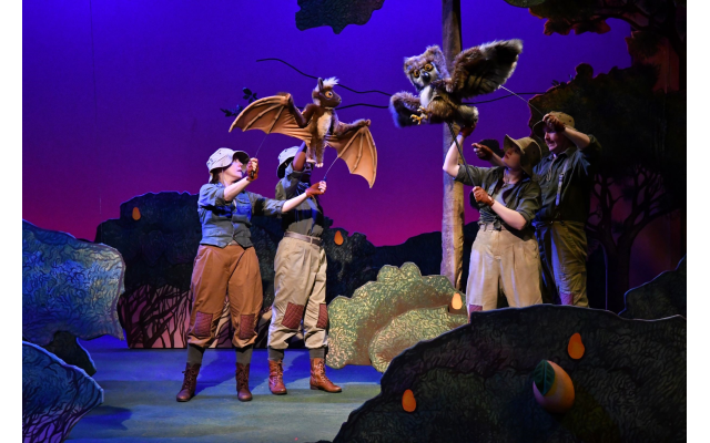 """The Atlanta Center for Puppetry Arts is currently featuring """"Stellaluna,"""" based on the popular children's book about bats."""