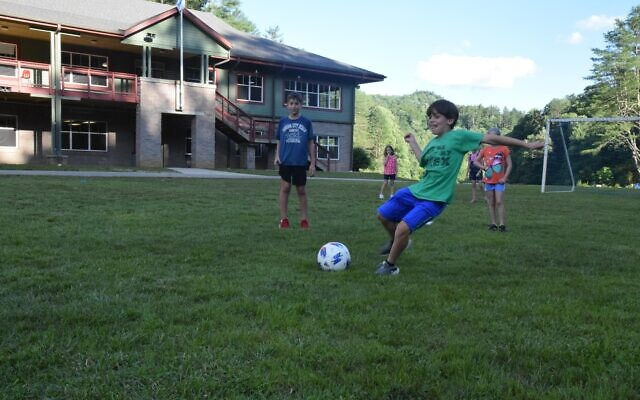 Soccer at Ramah Darom has a Jewish component, teaching values and leadership skills.