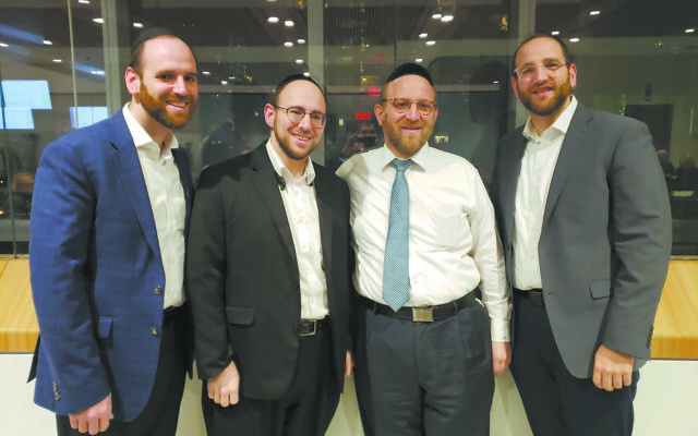 Rabbi Mayer Freedman and his brothers decided to donate kidneys in their father's memory.