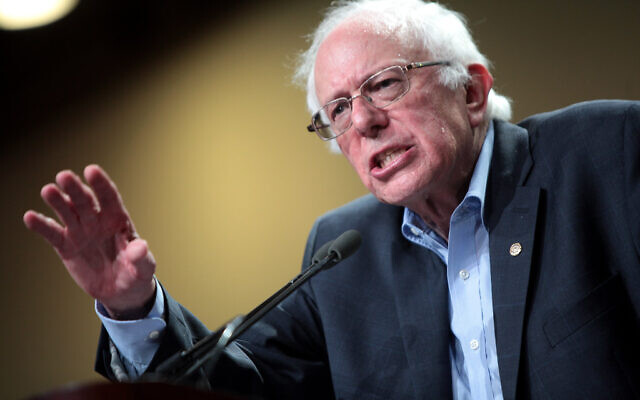 Presidential Candidate Bernie Sanders was a big topic of contention at AIPAC.