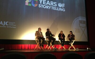 """The screening of the prize-winning film, """"Rewind"""" featured a lengthy discussion of childhood sexual abuse."""