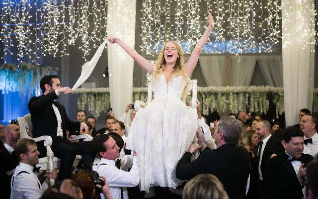 """Amy's wedding theme was """"a sky full of stars."""""""