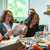 Photos by Stanley Leary// Here are scenes from last year's Diaspora Journey seder.