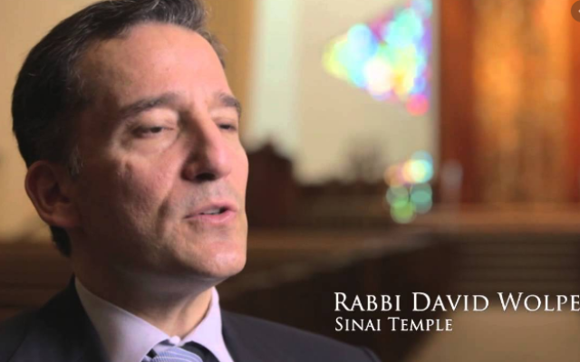 Los Angeles Rabbi David Wolpe has been a strong advocate in the American Jewish community for social justice.