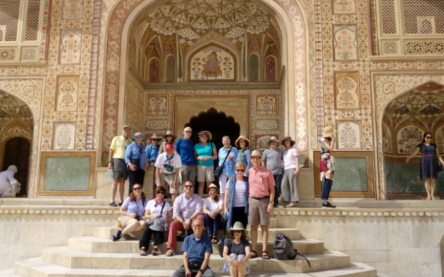 Two years ago, Rabbi Brad Levenberg led a group from Temple Sinai to India.