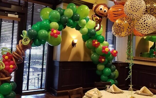Balloons Over Atlanta shows its artistic design talent in this creation.