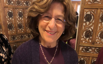 Chana Schusterman, mother of Intown Chabad's Eliyahu Schusterman, gave a talk on remaining calm, positivity and having faith.