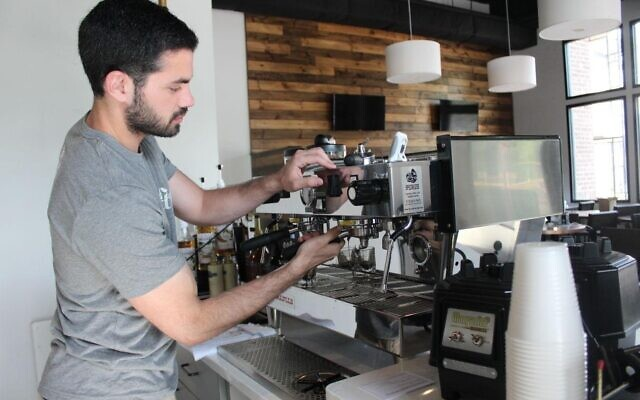 Jordan Segal became The Nest Café in Alpharetta five years ago when he was 24.