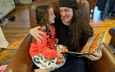 A Jewish value in the book is the importance of reading to children.