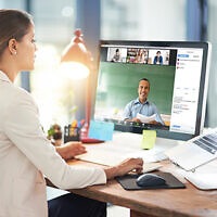 Zoom videoconferencing is increasingly being used for business, education and group meetings during the global health crisis.