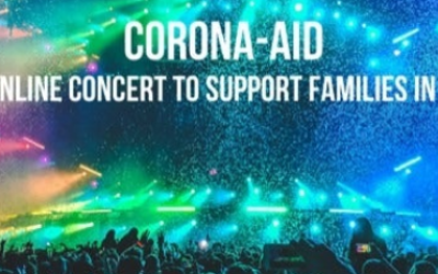 The Corona-Aid concert was a joint project between Kevin Abel and his college student son, Eric.