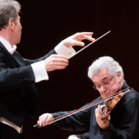"Yoel Levi and Pinchas Zukerman teamed up with the ASO for a stunning performance of Bruch's ""Violin Concerto No. 1."""