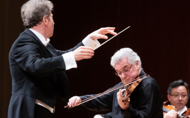 """Yoel Levi and Pinchas Zukerman teamed up with the ASO for a stunning performance of Bruch's """"Violin Concerto No. 1."""""""