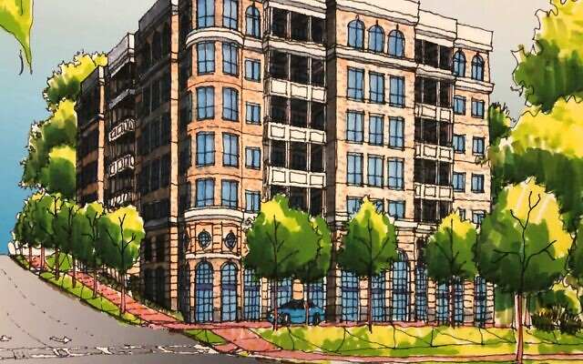 This luxury condo project in Sandy Springs will include 30 units with six units per floor, starting in the $900s.