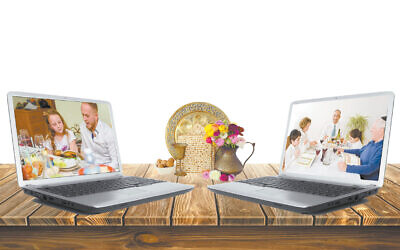 Turning a virtual world into reality this Passover.