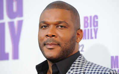 Tyler Perry, Atlanta resident buys groceries for many seniors doing the COVID-19 crisis.