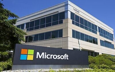 Microsoft Headquarters campus is pictured July 17, 2014 in Redmond, Washington. (Stephen Brashear/Getty Images)