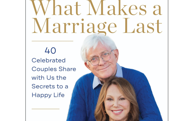 Photos courtesy of Marlo Thomas and Phil Donahue // Marlo and Phil embark on a fascinating journey with 40 high-profile couples to create their 600-page book.