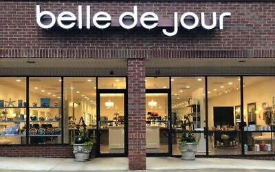 Belle de Jour Salon, just inside I-285 on Roswell Road, is distancing the work stations upon reopening.