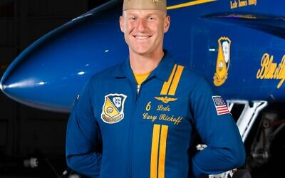Navy officer Cary Rickoff graduated Riverwood High School in 2005 and subsequently graduated Duke University. On May 2, he flew over his hometown as a Blue Angel in position six.