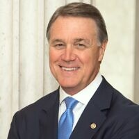 Republican incumbent Sen. David Perdue.