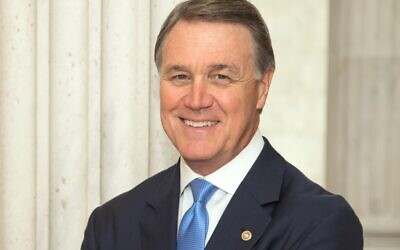 Republican Sen. David Perdue.
