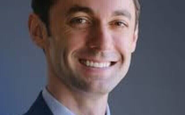 Democratic Senate hopeful Jon Ossoff.