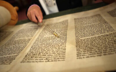 All night study of Torah and Jewish texts is a tradition on the first night of the holiday of Shavuot, which this year will be observed May 28-30. (Konstantin Goldenberg/Shutterstock)