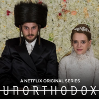 "Rabbi Yossi New held a Zoom conference to discuss the Netflix hit series ""Unorthodox."""