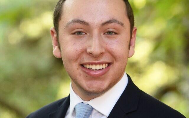 Valedictorian Zach Mainzer