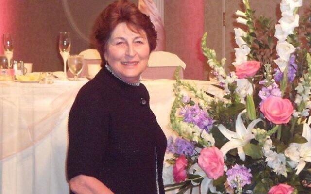 Joan Rubenstein runs Flower Design by Joan.