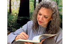"""Dr. Terry Segal spoke about """"Ten Keys to Nourish Mind, Body & Soul."""" Two of those keys are journaling and a connection to nature."""