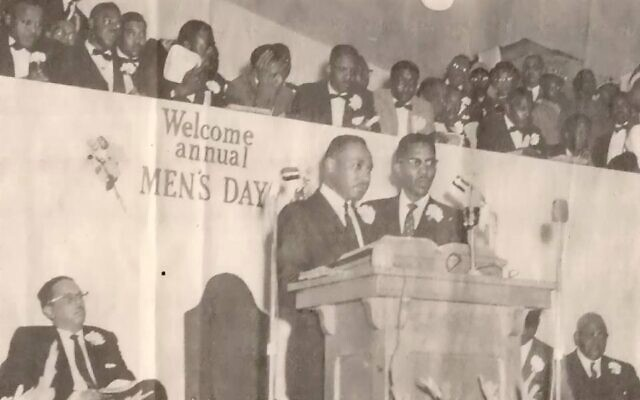 Johnson's grandfather, Rev. N.H. Smith Jr. of New Pilgrim Baptist Church in Birmingham, co-founded the SCLC with Martin Luther King Jr. and others.