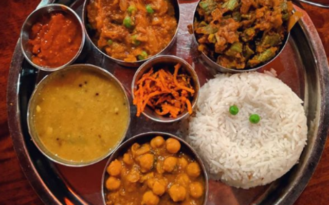 Mela, an Indian restaurant in downtown Asheville, uses only hormone-free meats and seafood, with local and organic ingredients whenever possible.