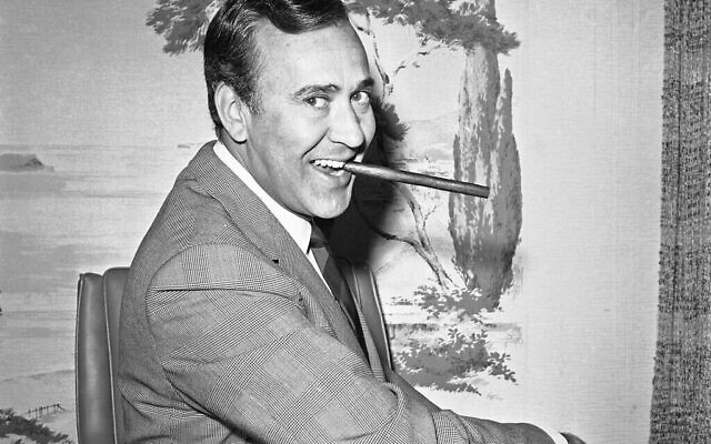 "FILE - In this May 25, 1967 file writer-comedian Carl Reiner poses in his new hairpiece in Los Angeles. Reiner, the ingenious and versatile writer, actor and director who broke through as a ""second banana"" to Sid Caesar and rose to comedy's front ranks as creator of ""The Dick Van Dyke Show"" and straight man to Mel Brooks' ""2000 Year Old Man,"" has died, according to reports. Variety reported he died of natural causes on Monday night, June 29, 2020, at his home in Beverly Hills, Calif. He was 98. (AP Photo/Harold Filan, File)"