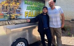 Brafman partnered with Ran Dori to launch the successful Mediterranean Street Food truck, which rotates locations.