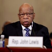 John Robert Lewis was an American politician and civil rights leader who served in the United States House of Representatives for Georgia's 5th congressional district from 1987 until his death in 2020.