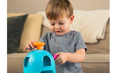 Innovation Station Activity Cube is a favorite toy that grows with your child.