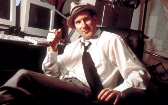 The reclusive Matt Drudge is rarely photographed in public.  This photo is from 1998.