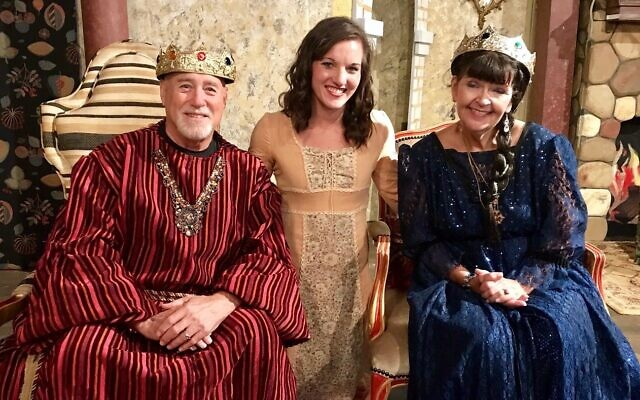 "Last year, Grossman, left, co-starred in the Lionheart Summer Children's production of ""The Princess and the Pea."""