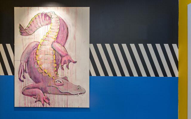 "The Roder's original ""Gay Gator"" is by local artist Liz Haywood"