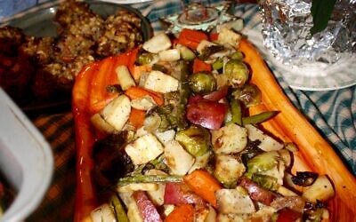 Rosemary roasted vegetables