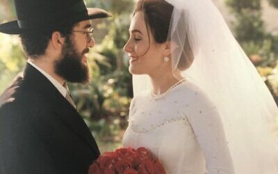 Rabbi Eliyahu Schusterman initially worked through family and friends in his quest to date now-wife Dena.
