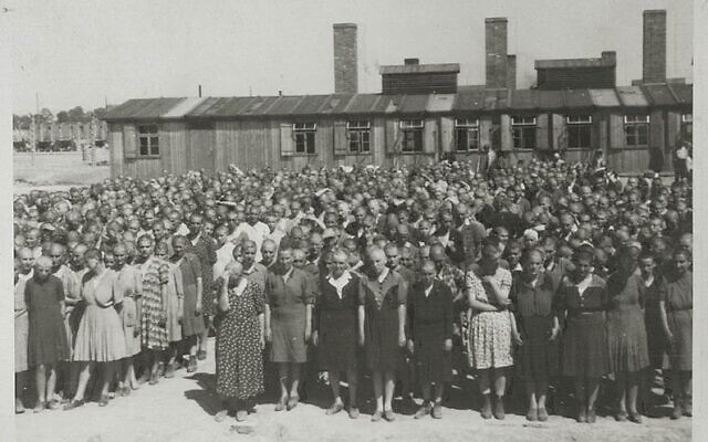 Roll call at Auschwitz-Birkenau concentration camp.