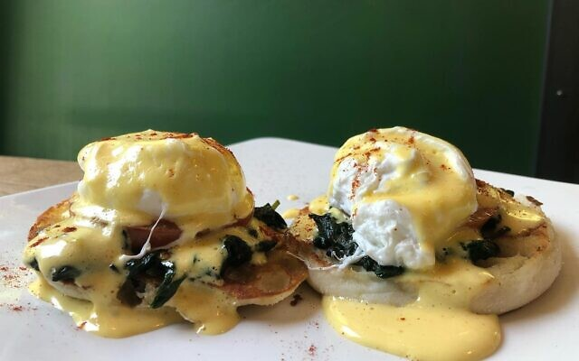 FolkArt offers six types of savory brunch-style eggs Benedict