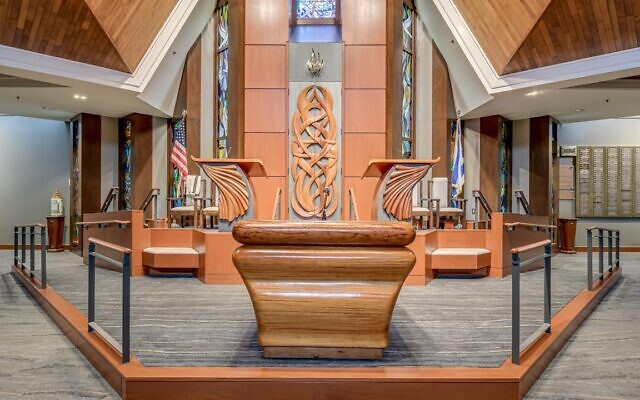 Congregation Etz Chaim received a Power of a Program inclusivity award for the renovation of its lower bimah.
