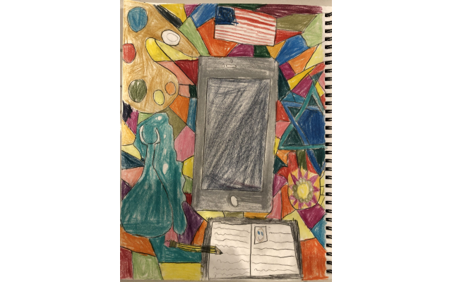 Dylan Feinberg 10 years old Untitled